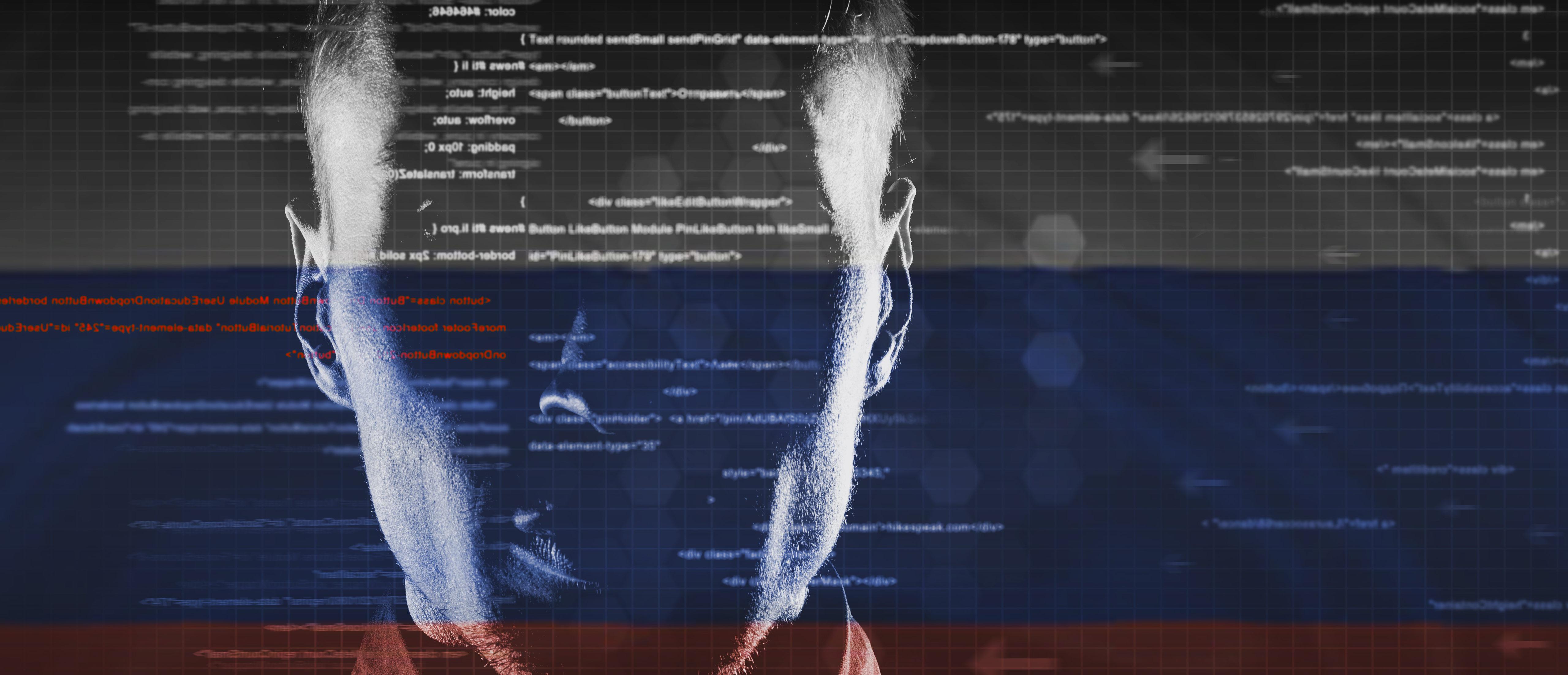 Russian spie hacker (Shutterstock/GlebSStock)