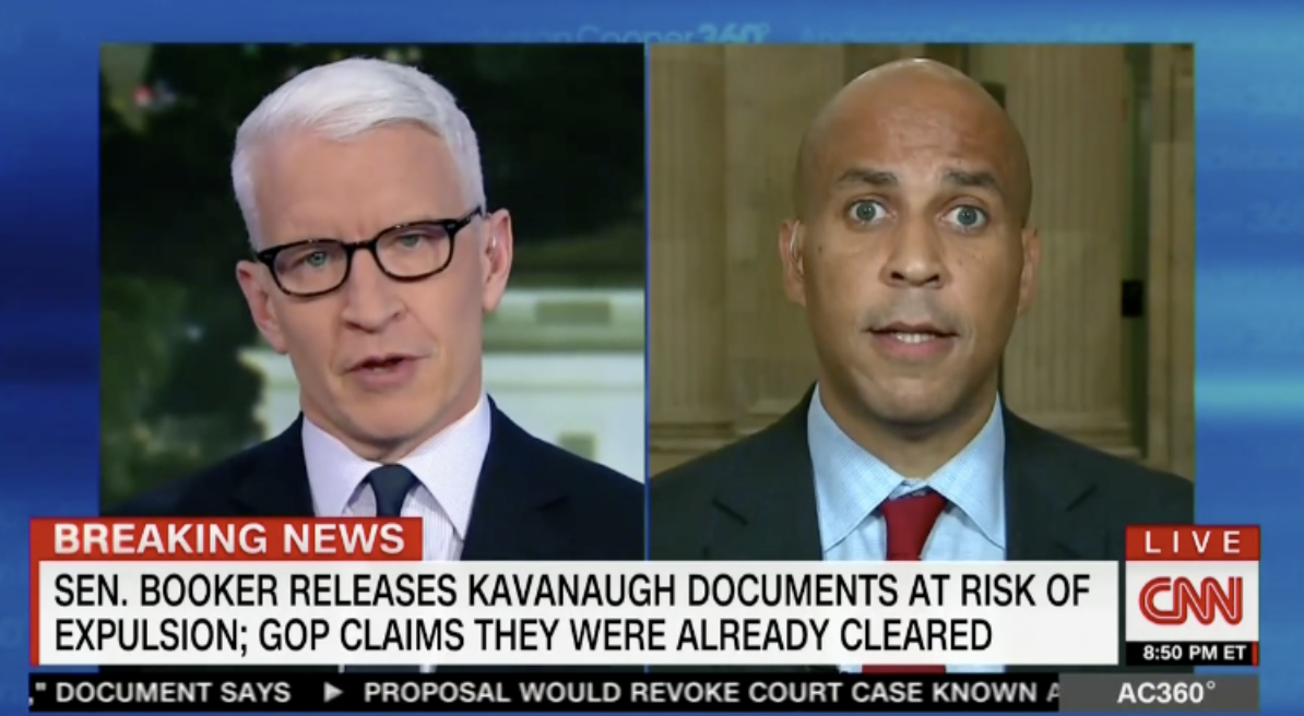 'I Am Breaking The Rules' — Booker Refuses To Acknowledge He Didn't Break Senate Rules During Thursday's SCOTUS Hearing | The Daily Caller