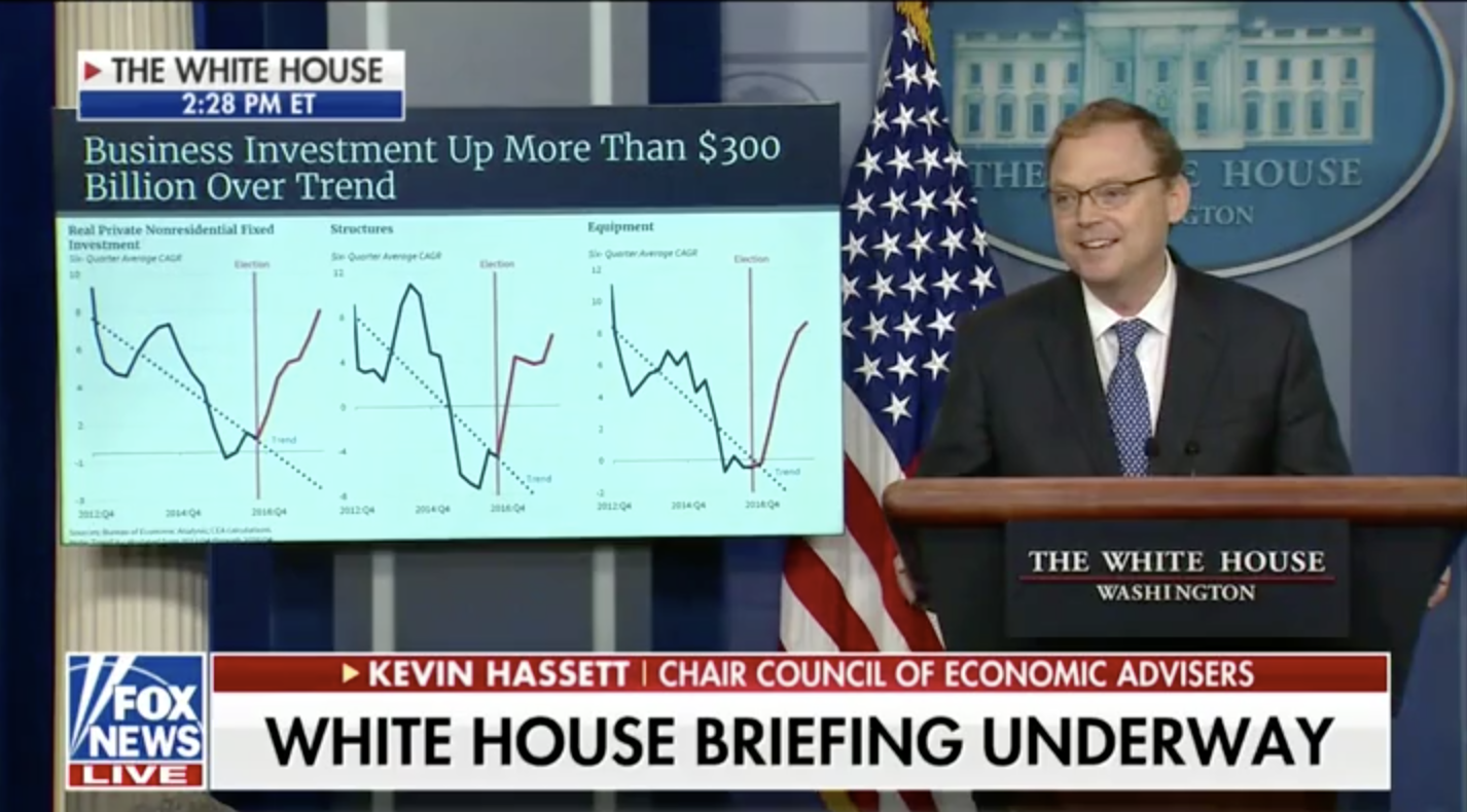 Obama Has Been Claiming Credit For Trump's Economy — Trump Marches Out Economist, With Receipts