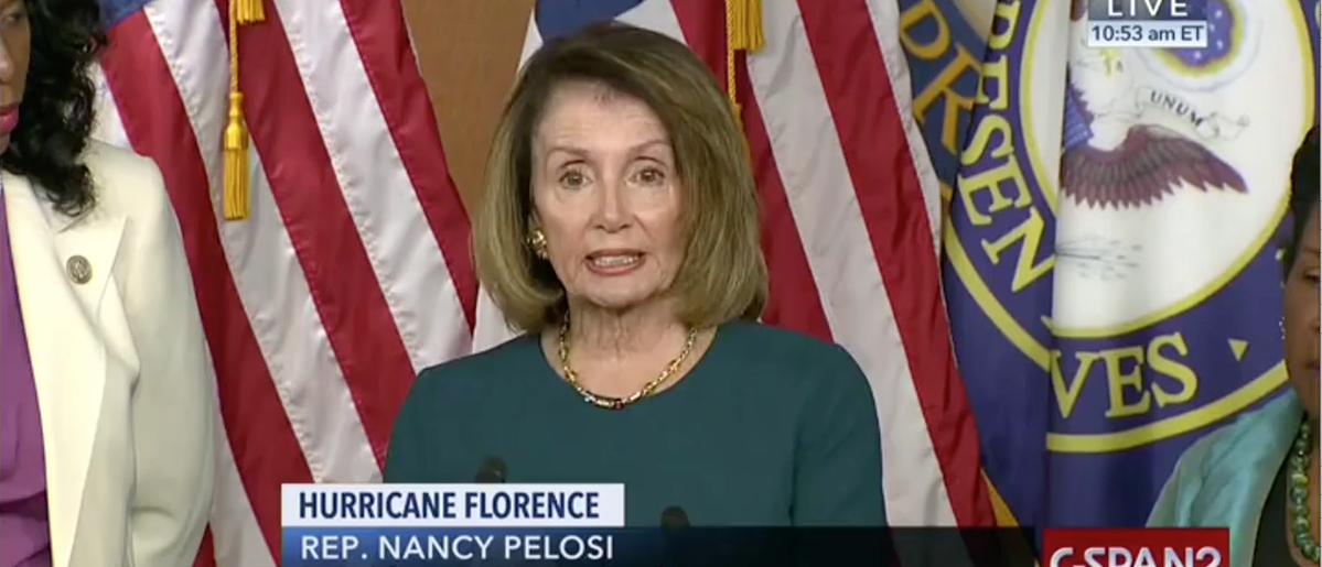 Pelosi Loses Train Of Thought Mid-Sentence