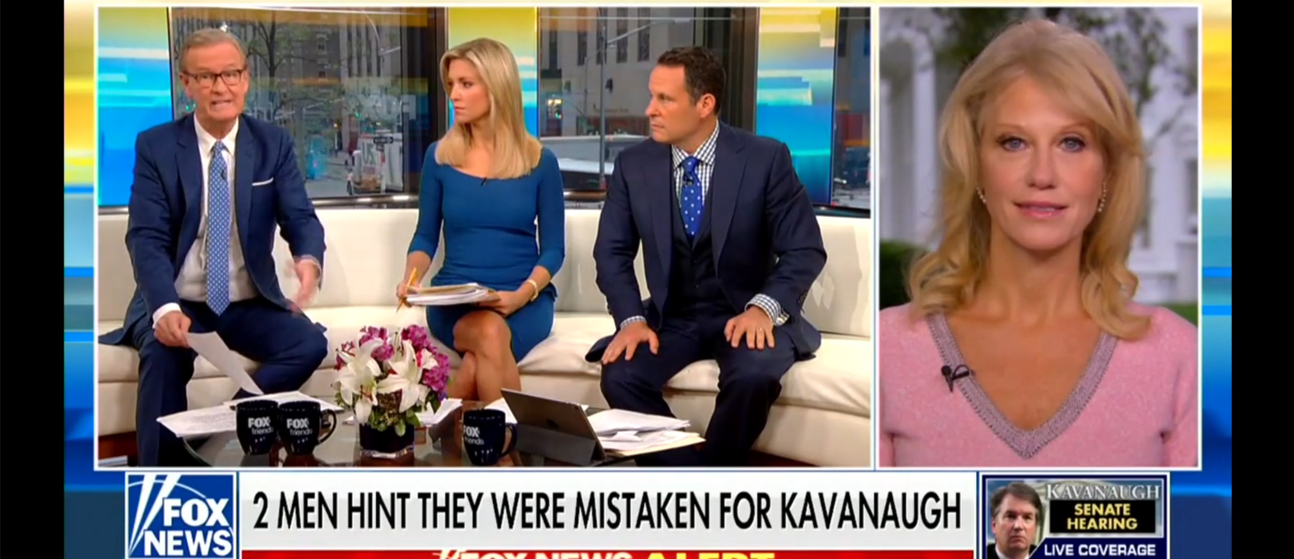 Kellyanne Points Out Dem Hypocrisy On Kavanaugh — Points To Cosby, Clinton, We...