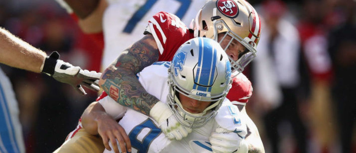 The Detroit Lions are in absolute crisis mode right now. My favorite team  lost Sunday to a very bad San Francisco 49ers team ffd98c20c