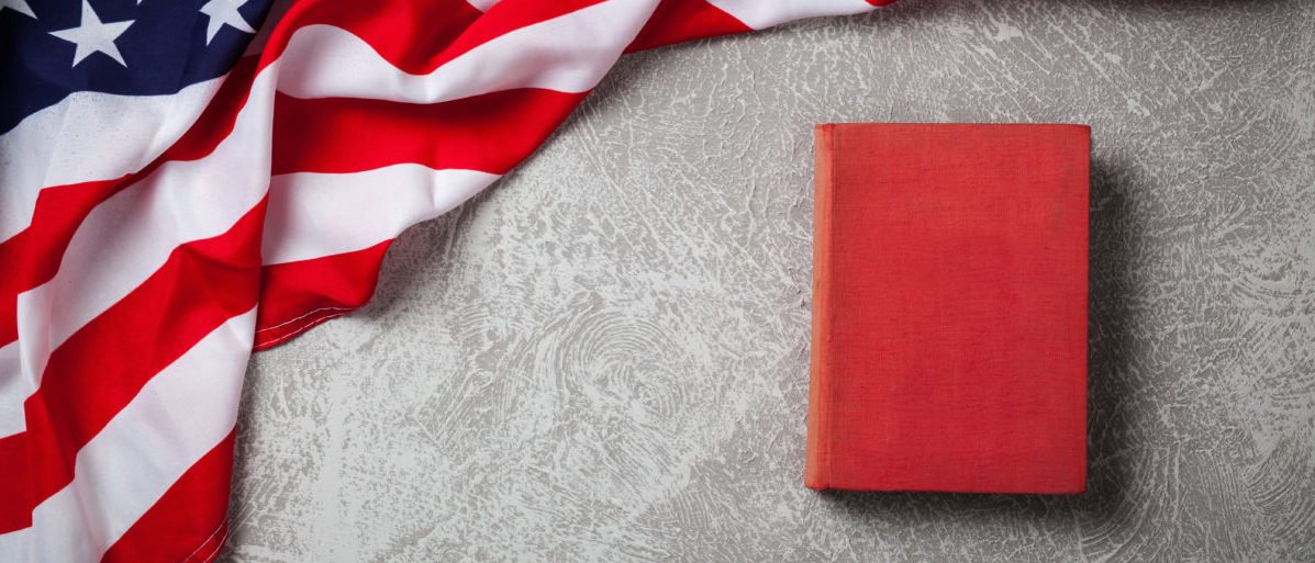 An education organization is going after a textbook, claiming it has over 300 instances of liberal bias. SHUTTERSTOCK/ George Dolgikh