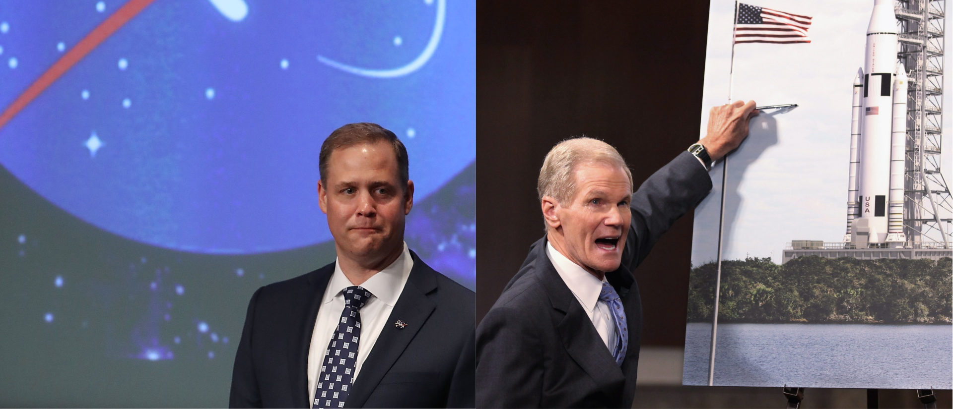 How Sen. Bill Nelson Learned To Stop Worrying And Love This NASA Administrator/ Getty Images