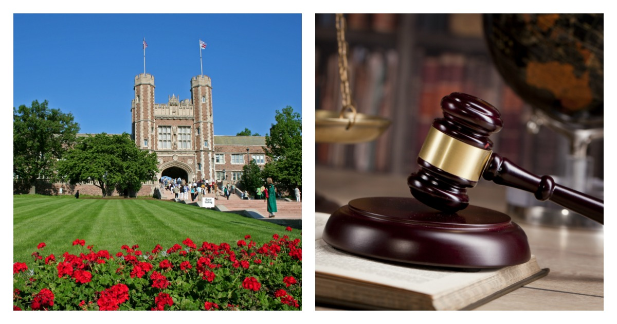 Top law school's alumni are funding an immigration clinic to train students to represent non-citizens in immigration cases. Left, SHUTTERSTOCK/ Evan Meyer/ Right, SHUTTERSTOCK/ oleandra