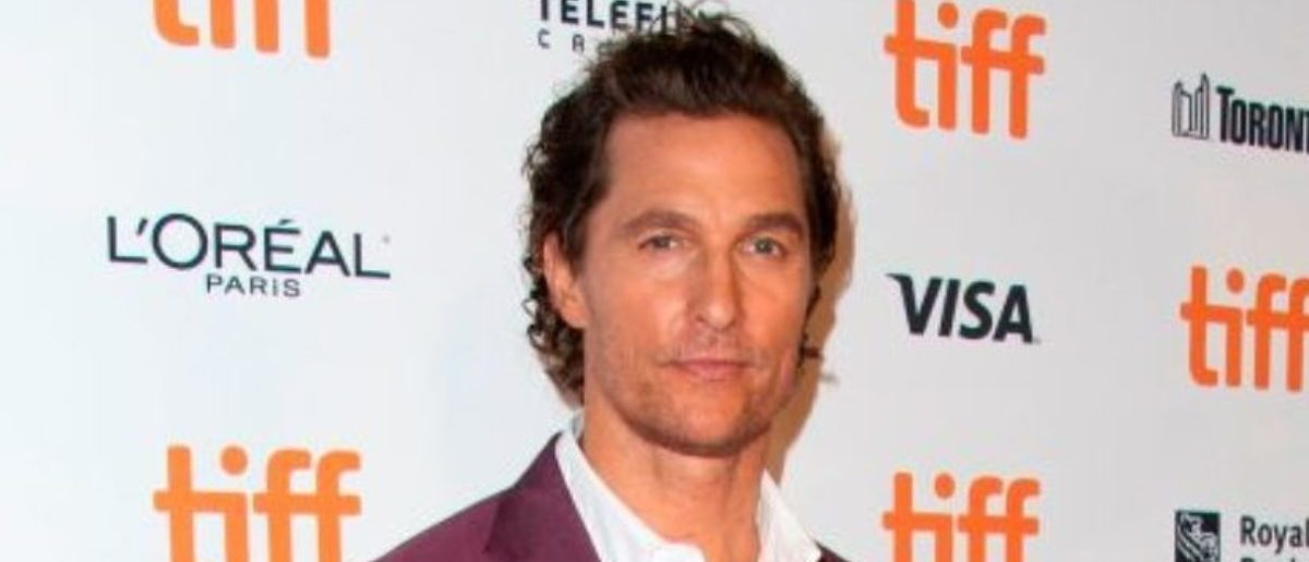 """US actor Matthew McConaughey attends the premiere of """"White Boy Rick"""" during the Toronto International Film Festival, on September 7, 2018, in Toronto, Ontario, Canada. (Photo: VALERIE MACON/AFP/Getty Images)"""