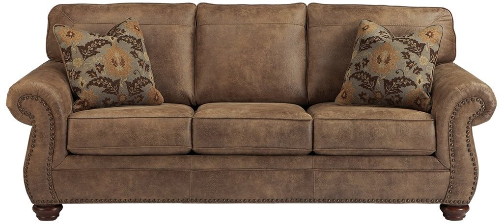 Normally $1073, this Ashley Furniture sofa is 48 percent off (Photo via Amazon)