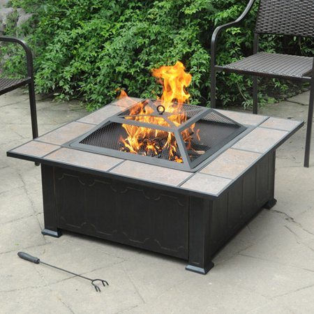 Normally $118, this fire pit is 23 percent off (Photo via Walmart)