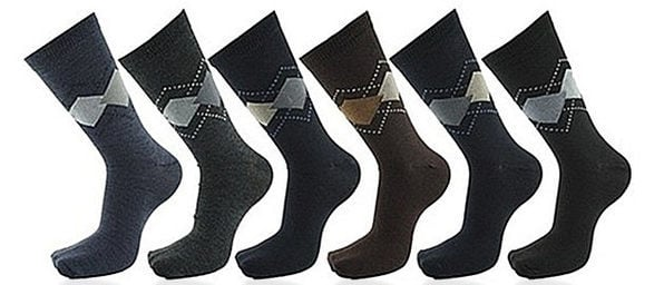 Normally $40, this 12-pack of dress socks is 55 percent off