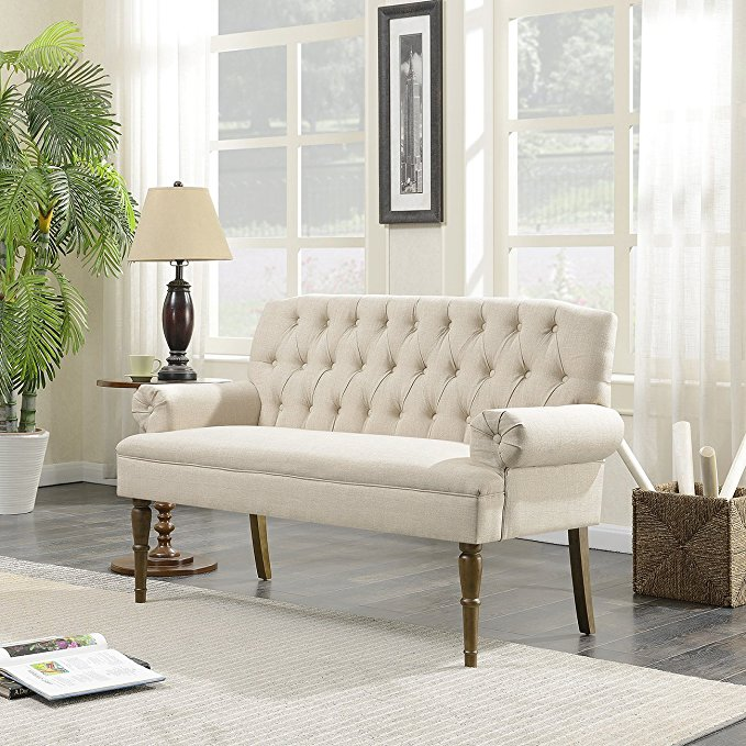 Normally $360, this sofa bench is 36 percent off (Photo via Amazon)