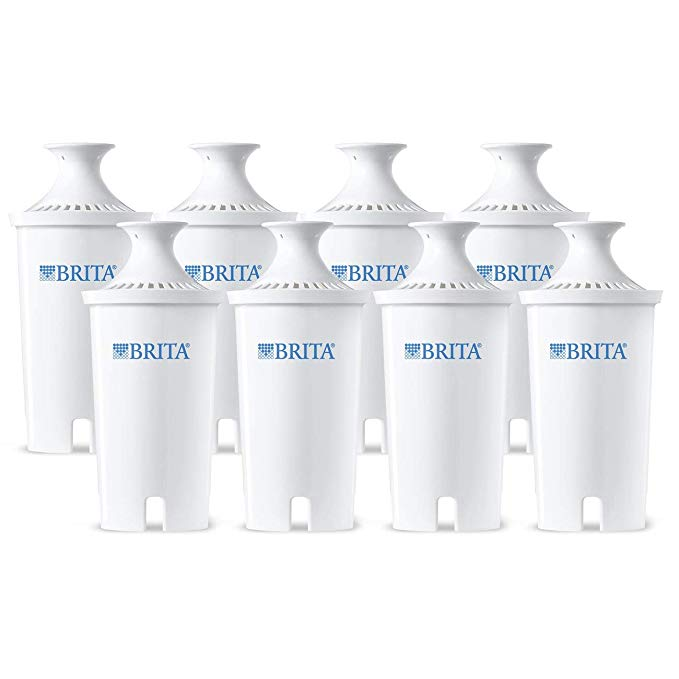 Normally $40, this #1 bestselling pack of Brita replacement filters is 34 percent off today (Photo via Amazon)