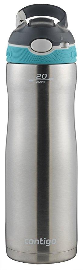 Normally $20, this Contigo water bottle is 32 percent off (Photo via Amazon)