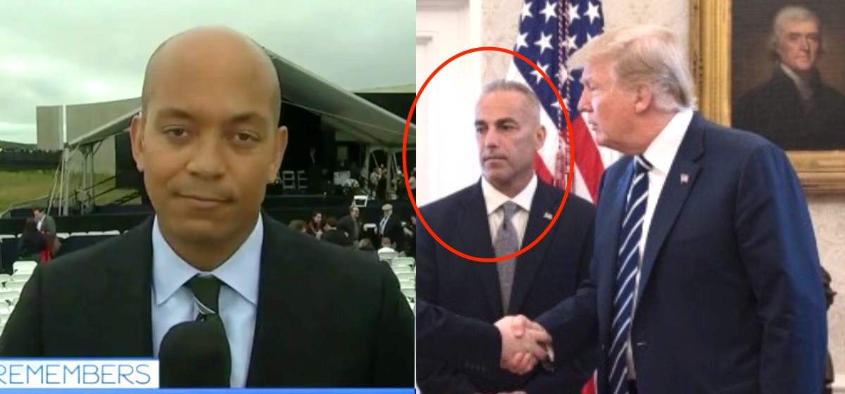 Parkland Dad Fact-Checks MSNBC Reporter Who Says Trump Is Not A 'Consoler-In-Chief' Screenshot/MSNBC/Andrew Pollack