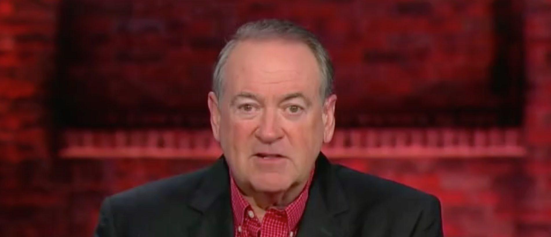 Mike Huckabee Wants NYT Op-Ed Author 'Frog-Marched Across Washington'