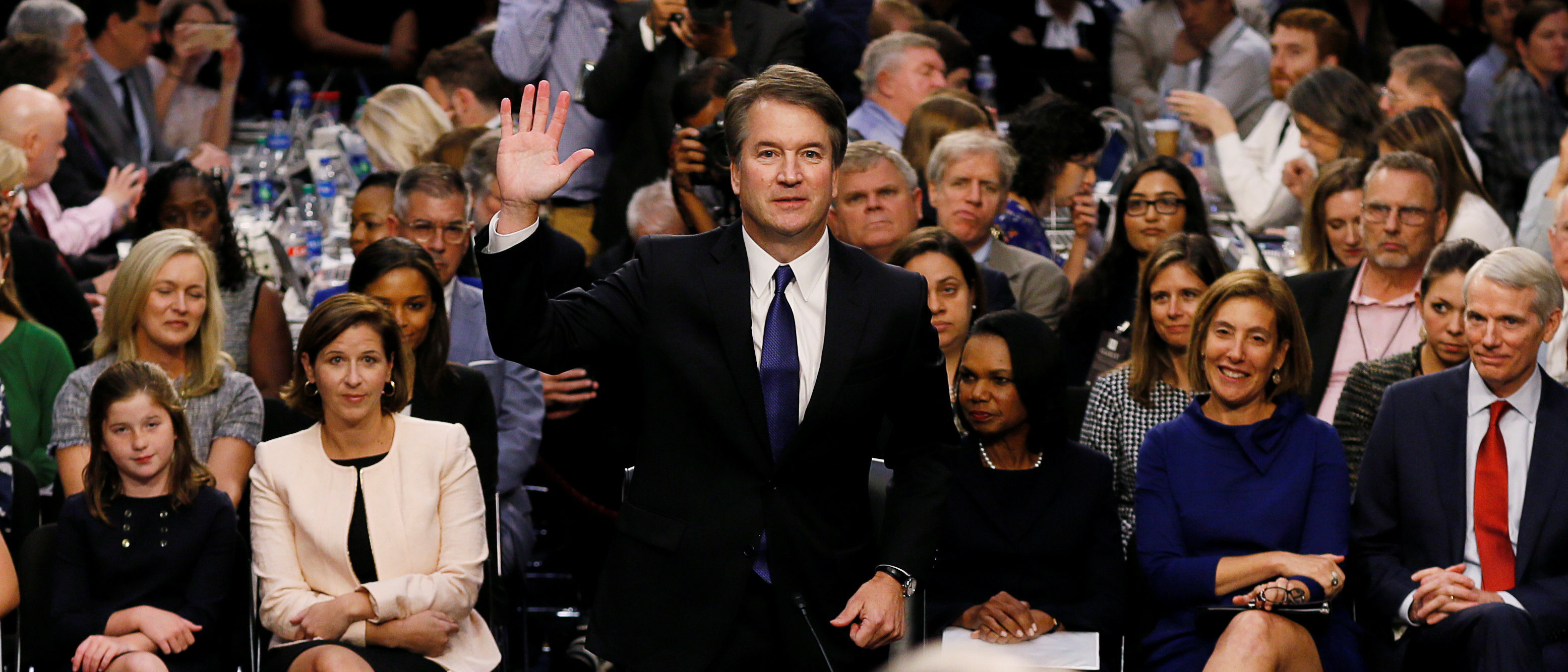 Trump Says Anti-Kavanaugh Protestors Are 'An Embarrassment To The Country'