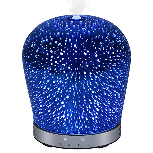Normally $60, this essential oil diffuser is 66 percent off (Photo via Amazon)