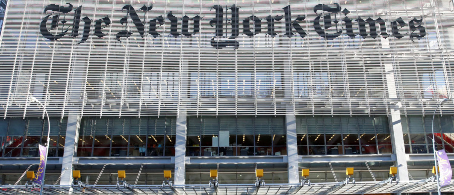 The New York Times published an op-ed from an anonymous senior official in the Trump administration REUTERS/Shannon Stapleton