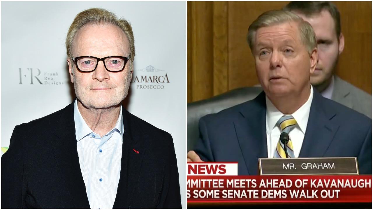 MSNBC's Lawrence O'Donnell Spreads Blatant Falsehood About Sen. Lindsey Graham