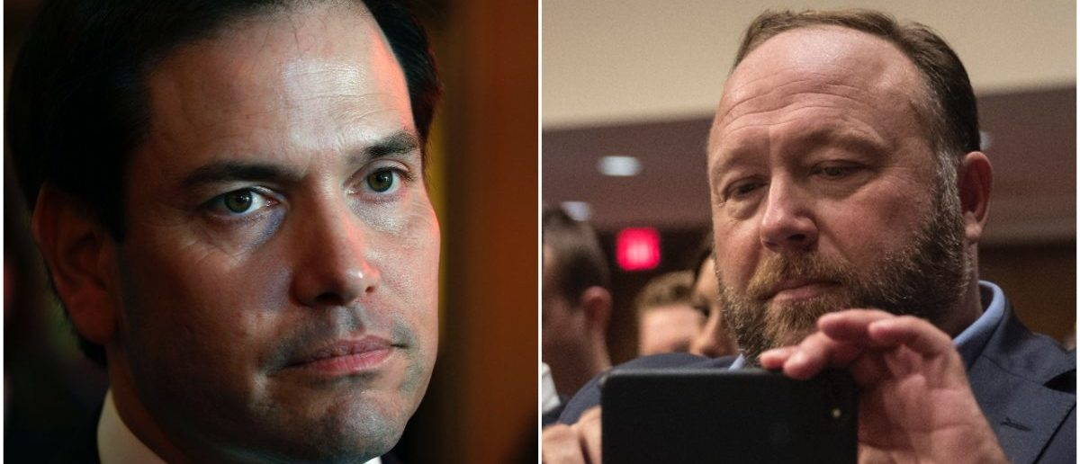 Sen. Rubio Warns Alex Jones: 'I'll Take Care Of You Myself'