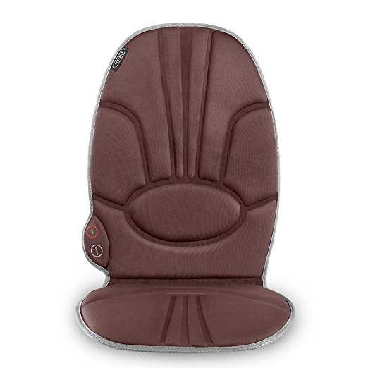 Normally $35, this portable back massage cushion is 43 percent off (Photo via Amazon)