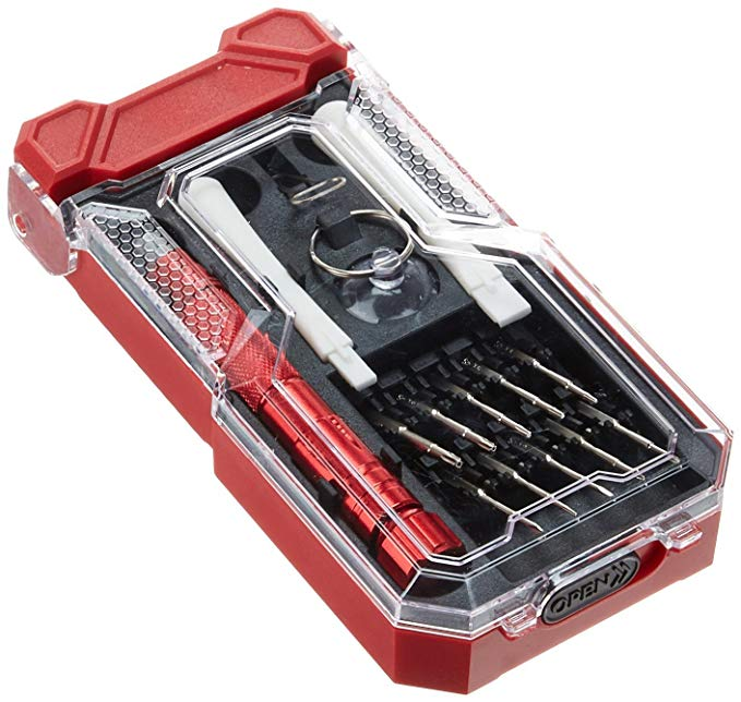 Normally $22, this electronics screwdriver set is 38 percent off today (Photo via Amazon)