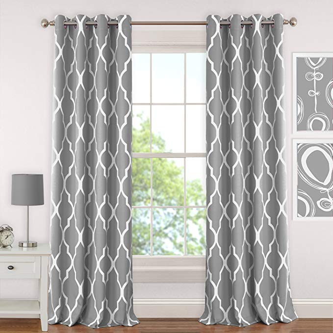 Normally $30, these blackout curtains are 50 percent off (Photo via Amazon)