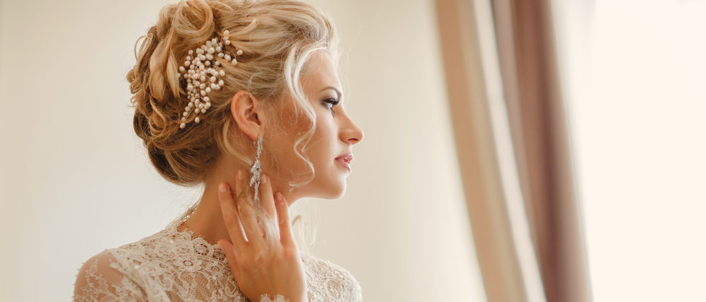 Chic Wedding Hairstyles For Long Hair, Mid-Length Locks