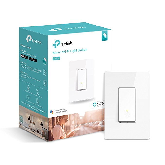 Normally $51, this Wi-Fi light switch is 39 percent off today (Photo via Amazon)