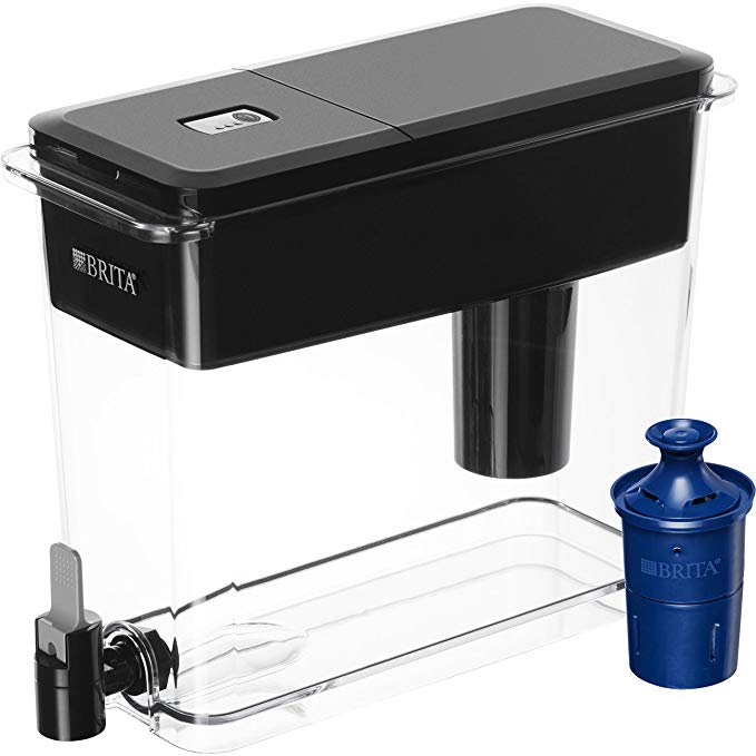 Normally $45, this Brita water dispenser is 40 percent off today (Photo via Amazon)