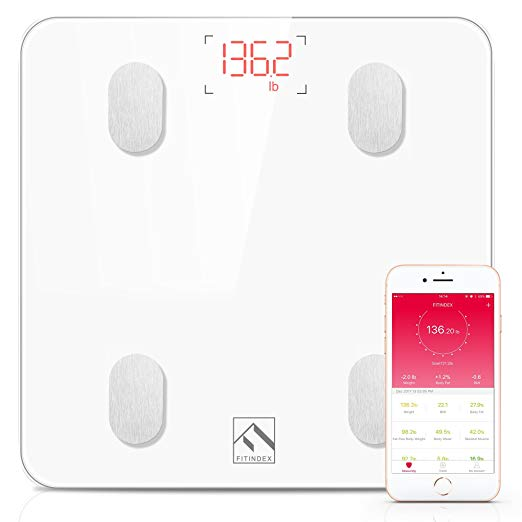 Normally $46, this #1 bestselling body fat scale is 52 percent off today (Photo via Amazon)