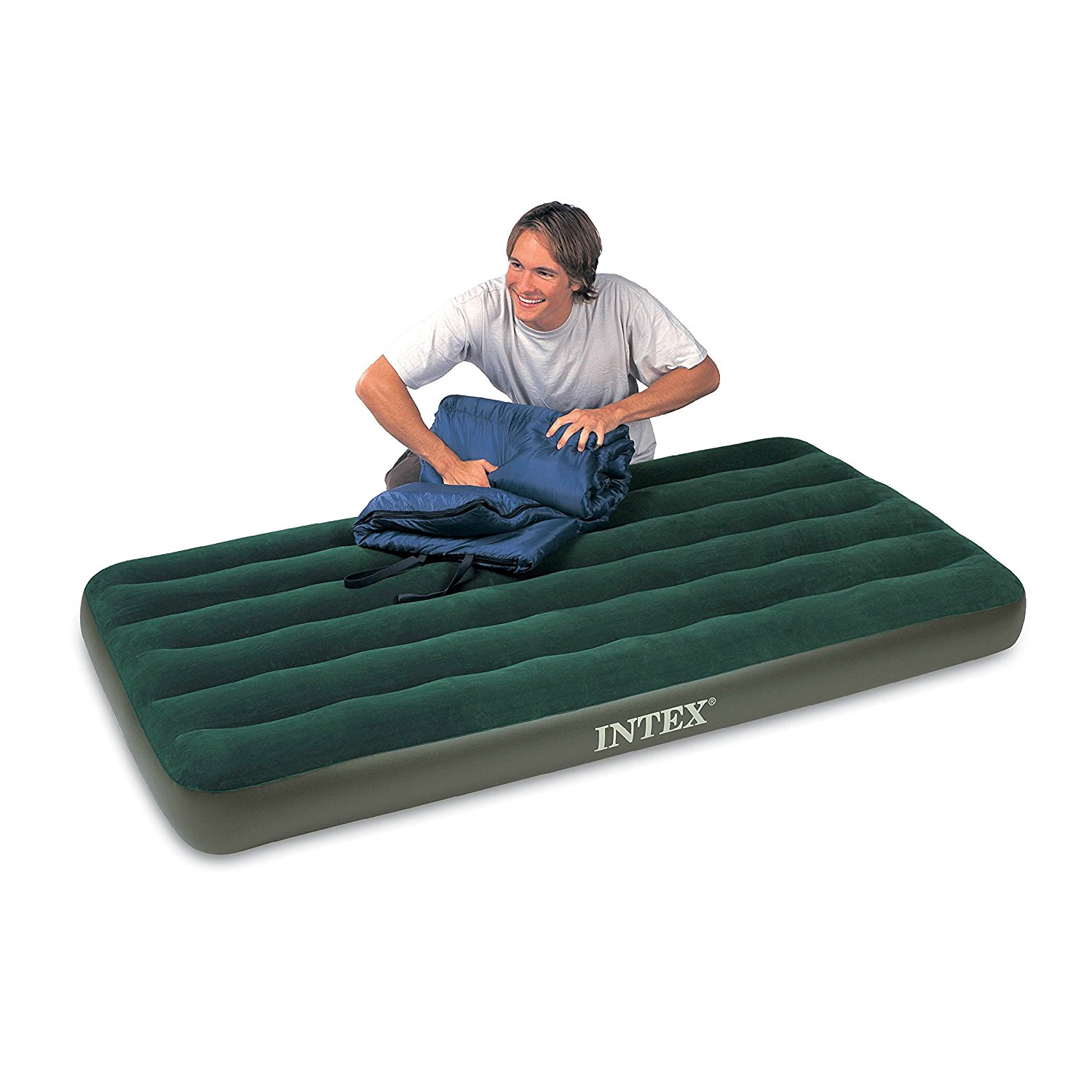 The airbed is 63% off today (Photo via Amazon)