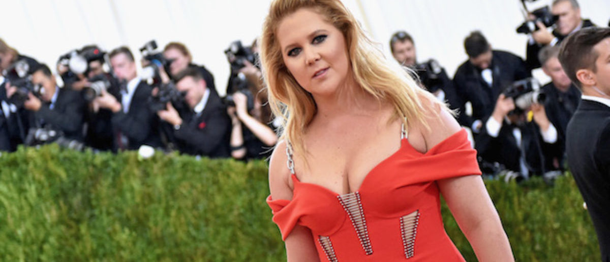 """Amy Schumer attends the """"Manus x Machina: Fashion In An Age Of Technology"""" Costume Institute Gala at Metropolitan Museum of Art on May 2, 2016 in New York City. (Photo by Mike Coppola/Getty Images for People.com)"""