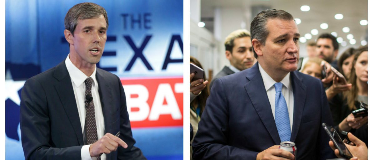 Beto O'Rourke And Ted Cruz Side By Side (Getty Images -- Tom Reel and Zach Gibson)