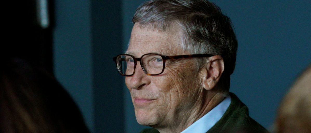 Bill Gates Partners With Europe To Stop Global Warming
