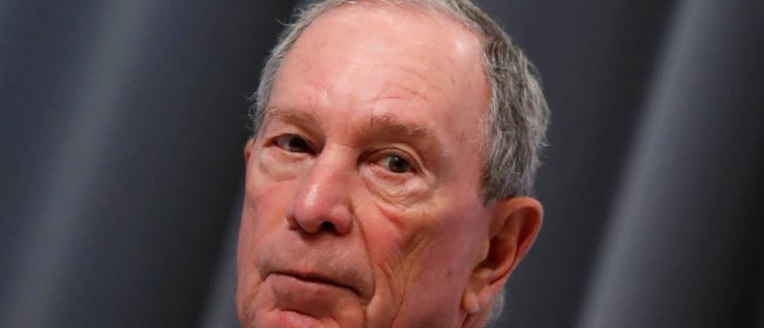 FILE PHOTO: Special envoy to the United Nations for climate change Michael Bloomberg attends a news conference during the One Planet Summit at the Seine Musicale center in Boulogne-Billancourt, near Paris, France, December 12, 2017. REUTERS/Gonzalo Fuentes/File Photo