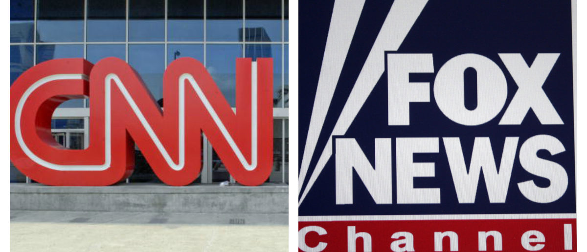 CNN And Fox News Logos Side By Side -- Getty Images Chris Rank And ShutterStock 360B