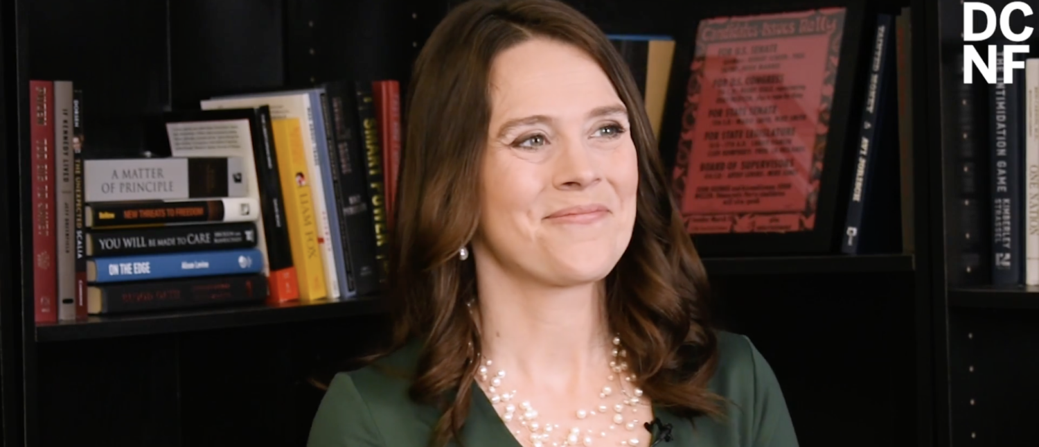 Carrie Severino of the Judicial Crisis Network speaks to TheDCNF about Judge Brett Kavanaugh. (The Daily Caller News Foundation)