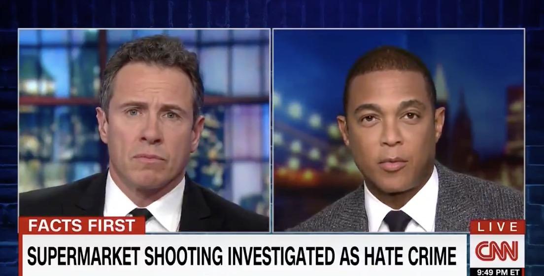 CNN's Chris Cuomo and Don Lemon speak on air Tuesday, Oct. 30, 2018. (Photo: Screenshot/CNN)