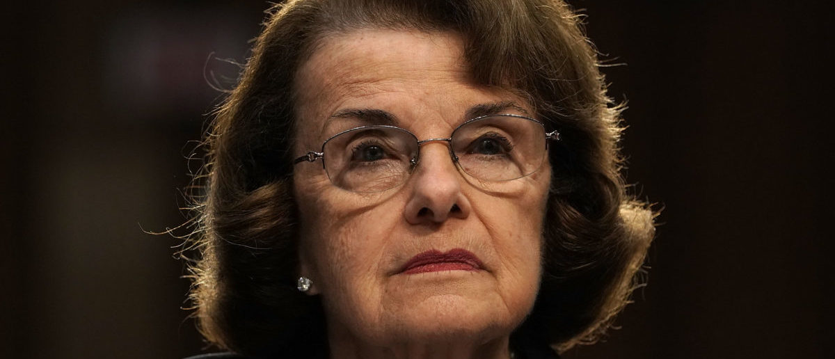 Dianne Feinstein attacked the legitimacy of the Supreme Court (Photo by Alex Wong/Getty Images)