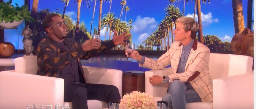 Diddy on Ellen (Photo: YouTube Screenshot)