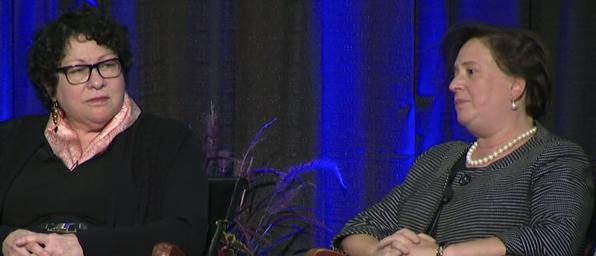 Elena Kagan discusses new court makeup (screengrab)