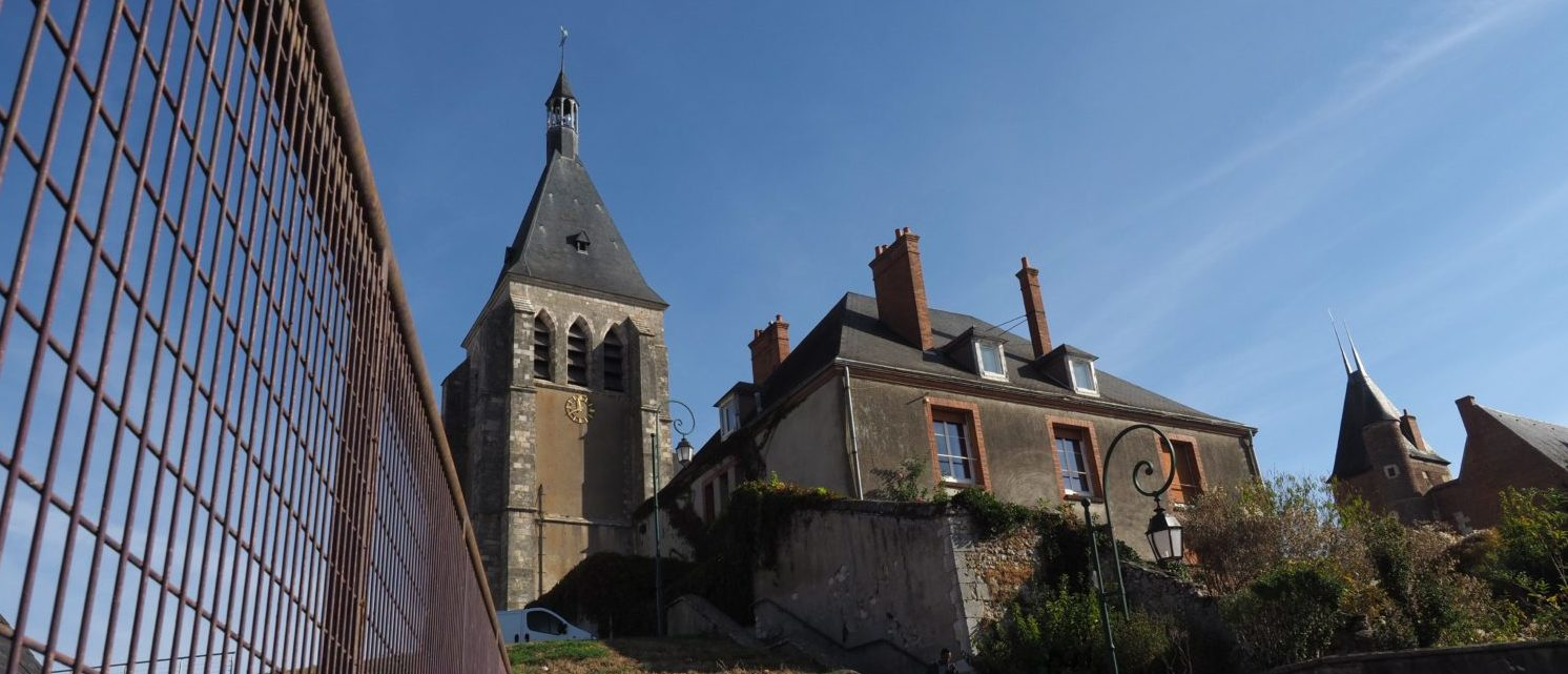 A picture taken on October 23, 2018 shows the presbytery where priest Pierre-Yves Fumery hanged himself on October 20, 2018 in Gien, near Orleans, central France. - Pierre-Yves Fumery was under investigation for alleged sexual assault. (GUILLAUME SOUVANT/AFP/Getty Images)