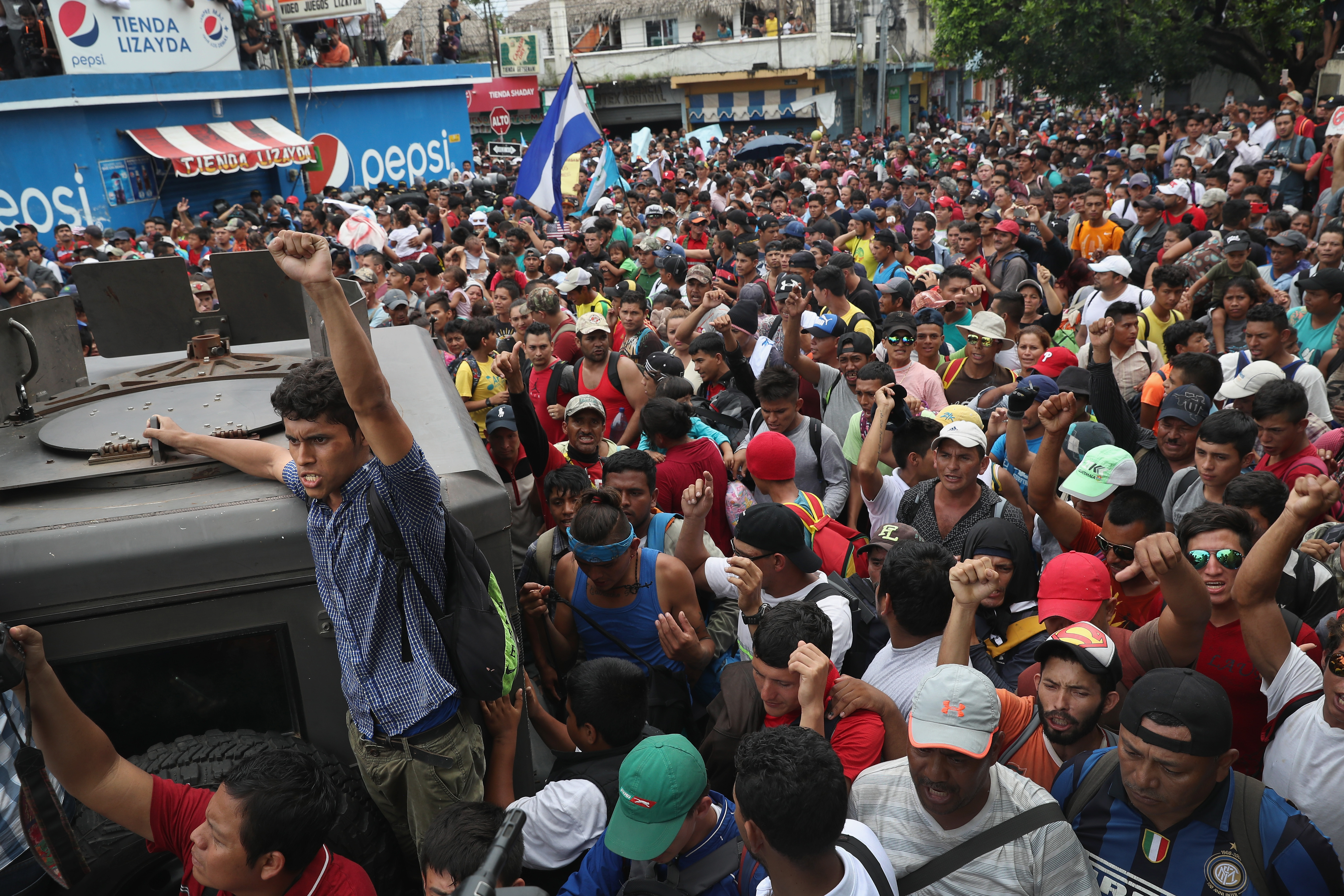 Trump To Cut Aid Off To Central America For Failure To Stop Caravan