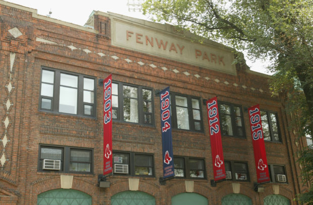 BOSTON - MAY 1: General view of the exterior of the Boston Red Sox home field of Fenway Park on May 1, 2004 in Boston, Massachusetts. (Photo By: Getty Images)