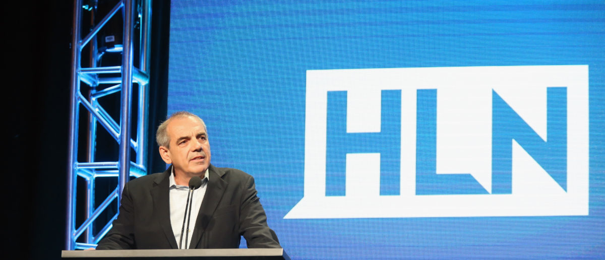 BEVERLY HILLS, CA - JULY 31: Executive VP, CNN Ken Jautz speaks onstage during the 'HLN/Live from NY, LA & Atlanta' panel discussion at the Turner portion of the 2016 Television Critics Association Summer Tour at at The Beverly Hilton Hotel on July 31, 2016 in Beverly Hills, California. (Photo by Frederick M. Brown/Getty Images)