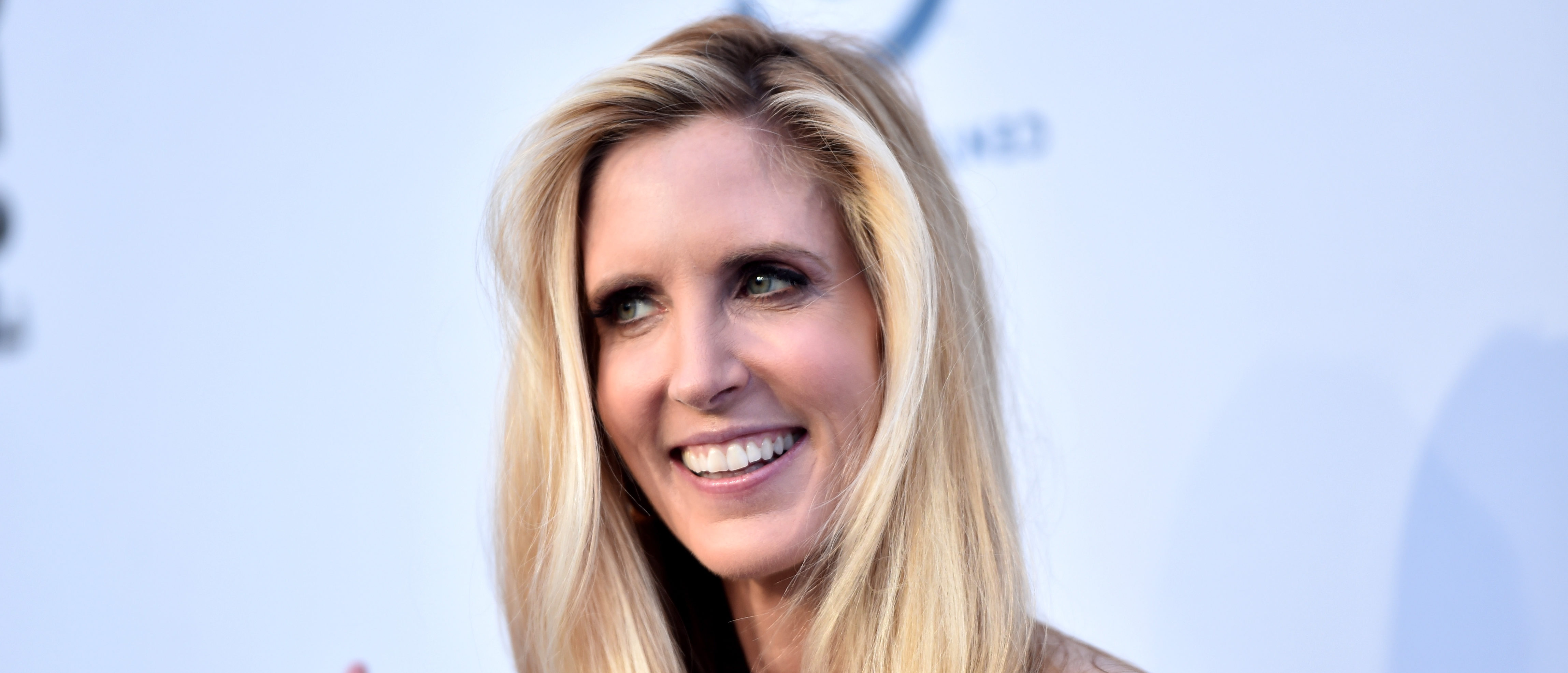 LOS ANGELES, CA - AUGUST 27: Political commentator and author Ann Coulter attends The Comedy Central Roast of Rob Lowe at Sony Studios on August 27, 2016 in Los Angeles, California. (Photo by Alberto E. Rodriguez/Getty Images)