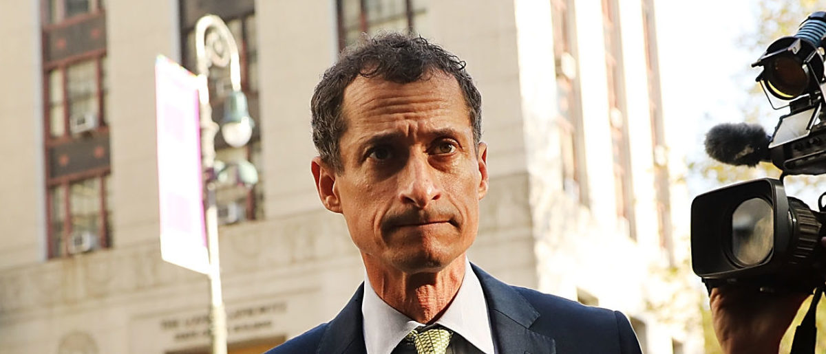 Remember Anthony Weiner? He Might Be Getting Out Of Prison Early