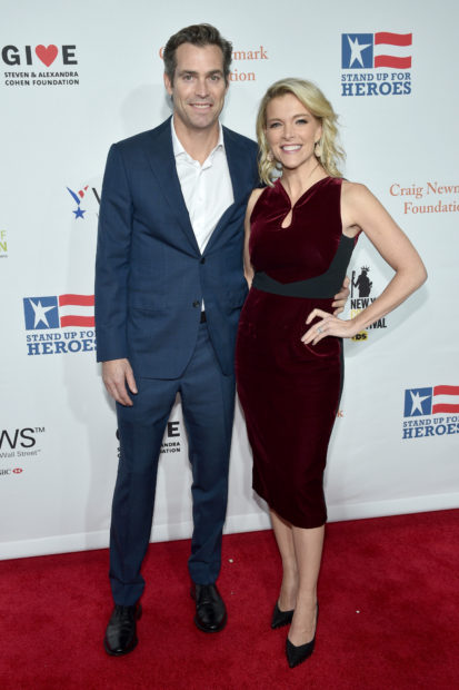 NEW YORK, NY - NOVEMBER 07: Douglas Brunt and Megyn Kelly attend the 11th Annual Stand Up for Heroes Event presented by The New York Comedy Festival and The Bob Woodruff Foundation at The Theater at Madison Square Garden on November 7, 2017 in New York City. (Photo by Bryan Bedder/Getty Images for Bob Woodruff Foundation)