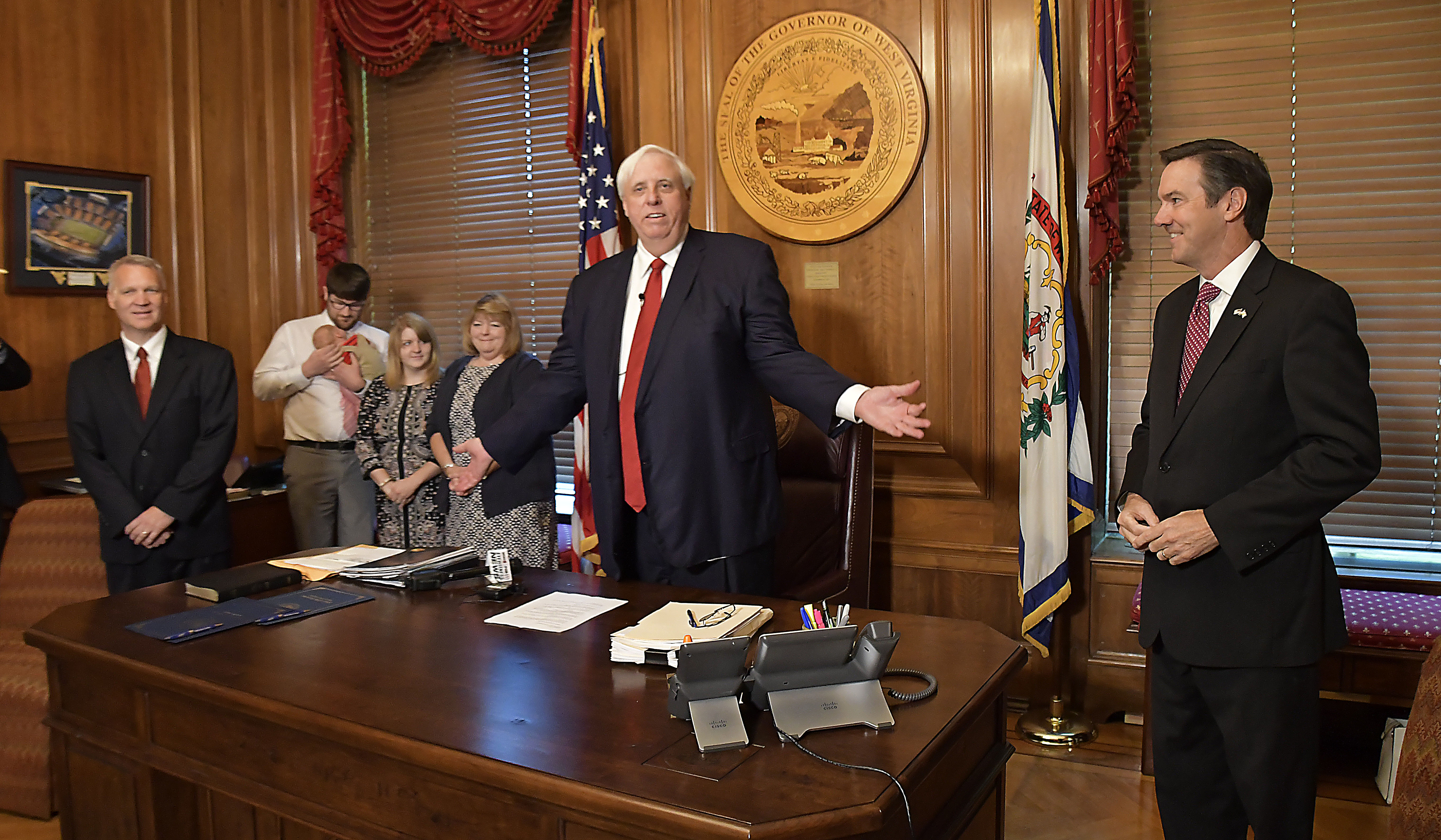 Gov. Jim Justice appoints two interim members of the West Virginia Supreme Court of Appeals. (justices_Panorama1/Flickr Creative Commons)