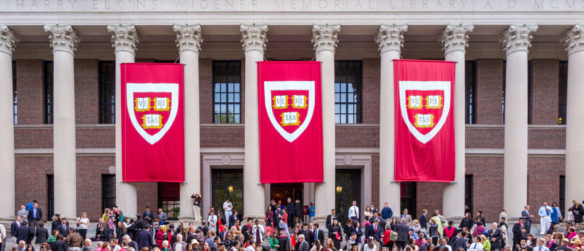 """A Harvard dean said white applicants had """"somewhat stronger"""" recommendations than Asian-American applicants. SHUTTERSTOCK/ f11photo"""